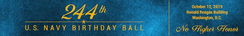 U.S. Navy 244th Birthday Ball